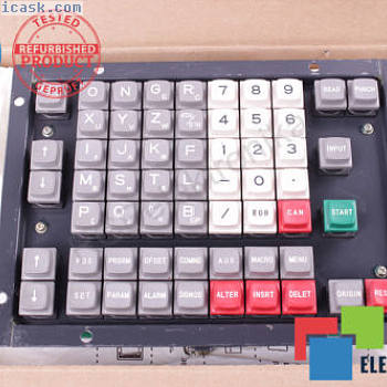 KEYBOARD A20B-1000-0131-01 FANUC 12M WARRANTY ID813