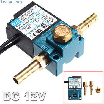 MAC 3 Port Électronique Boost Control Solénoïde Valve pour ECU PWM DC12V 120 PSI