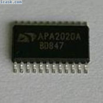 1X New ANPEC APA2020A TSSOP24 IC Chip