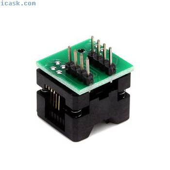 SOP8 to DIP8 Programmer adapter Socket T6V6