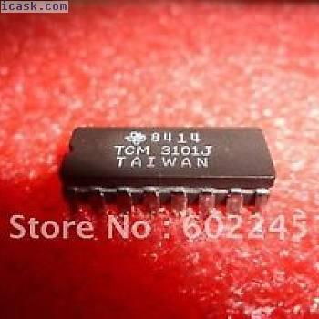 TI TCM3101J CDIP-16 FSK MODEM