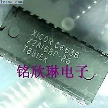 XICOR X2816BP-25 DIP-24 x8 EEPROM