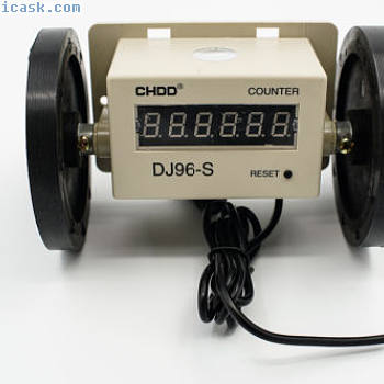 DJ96-S electronic instrument meter counter wheel textile digital counter DC2240V