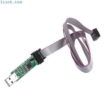 USB adaptateur ISP telechargement de logiciels pour ATMEL AVR ATMEGA 51 D5Y4