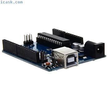 Funduino UNO R3 ATmega328P-PU Carte d'extension Plaque + Cable USB pour Ar P5N7