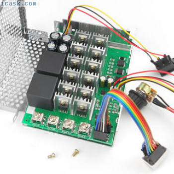 DC motor speed Control 12v24v36v48v power driver module PWM controller 20a