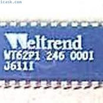 WELTREND WT62P1 DIP-40 microcontroller for digital