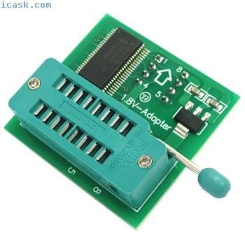 1.8V adapter for motherboard SPI Flash SOP8 DIP8 W25 MX25 C4J9