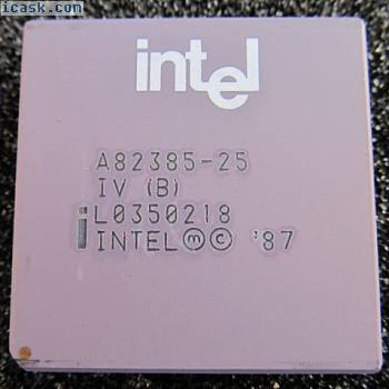 A82385-25 INTEL High Performance 32-Bit 80386 386 Cache Controller 25MHz PGA132
