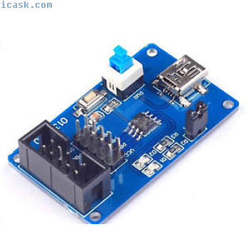 ATtiny13 AVR development board core board Q2C4
