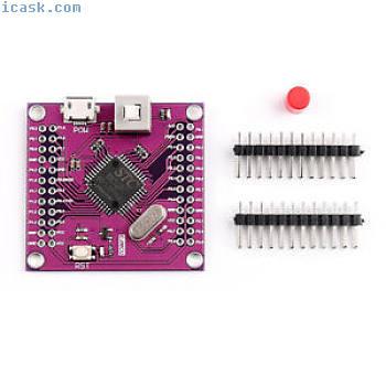 STC89C52RC CJMCU-52 Microcontroller Development Board Minimum System Purple I2Z6