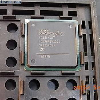 XC6SLX75 SPARTAN-6 FPGA 408 Input Output BGA-676 XILINX