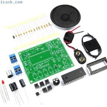 Velleman Voice Recording/Playback Module Mini Kit MK195 1760 DIY Flux Workshop