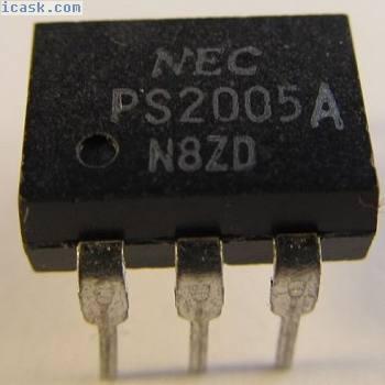 10 Stück - PS2005A NEC 6,0KV Optokoppler  (A14/8860)