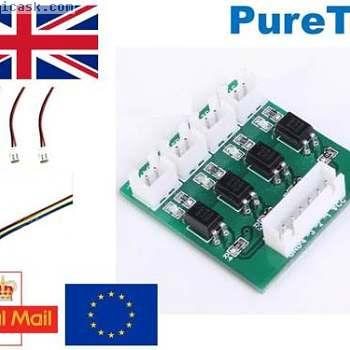4 channel 12v/24v to 5v input optoisolator optocoupler for Arduino RPi ARM PIC
