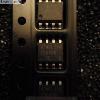 100pcs. AT25640N-10SC,  64K, SPI EEPROMS      ATMEL