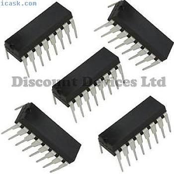 5 X ULN2003A NPN  Transistor Array (IC)