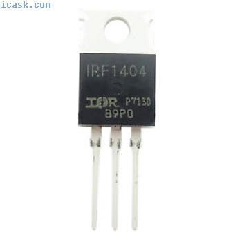 5 PCS 5X MOSFET Transistor IRF1404 O4J9