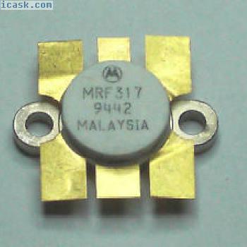 Motorola MRF317 NPN RF Transistor. Genuine Device. UK Seller. Fast Dispatch.