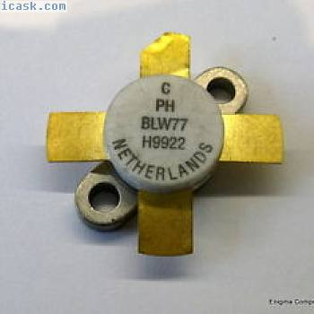 Philips BLW77 RF Transistor. Genuine Device. UK Seller. Fast Dispatch.