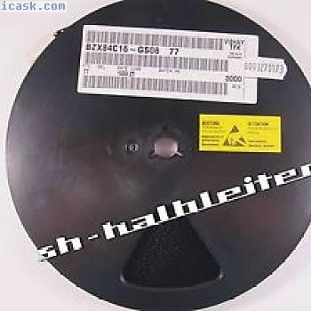 BZX84C16 - 3000 Stück Rolle VISHAY - Zenerdiode 16V - 250mW - SOT23 SMD