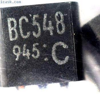 200 Toshiba BC548C ALTO GUADAGNO Transistor di tipo NPN TO92 BC548 C548