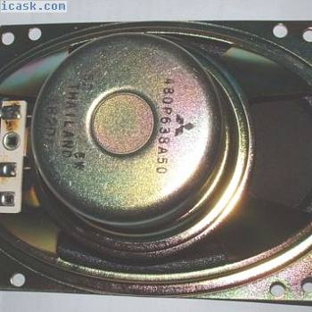 Paar von 6x4 Lautsprecher abgeschirmt Magnet 8 Ohms 5W 100x150mm 480-p-638-a-50