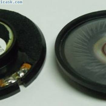5.7cm 57mm niedriges Profil 8 Ohm Mylar Kegel Lautsprecher T225