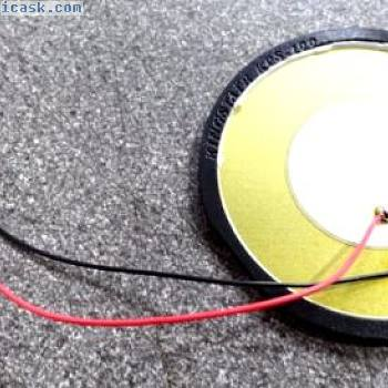 KINGSTATE kpsg100 piezo eléctrico Transductor Parlante DISCOS 30v 622-1584 50mm