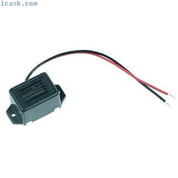 5 x 12V Cicalino Elettronico con volante MINE