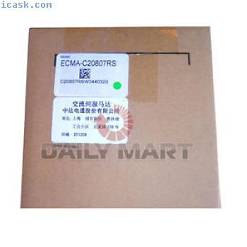 Brand NW Delta ECMA-C20807RS AC Servo Motor Drive 220V 750W 2.39NM 3000rpm