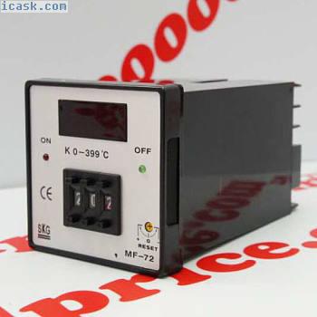 SKG Temperature Controller MF-72 K Type 0-399°C CE 110/220VAC NIB