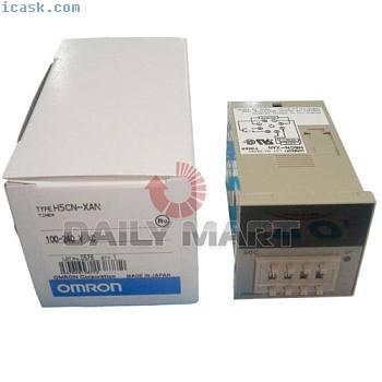 OMRON H5CN-XAN H5CNXAN DIGITAL LED TIMER 100-240VAC PLC MODULE NW