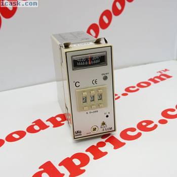 SKG Temperature Controller TE5EM K Type 0-399°C CE 110/220VAC NIB