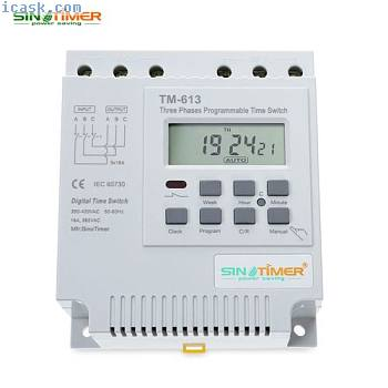 SINOTIMER 380V LCD Digital Multipurpose Three Phases Programmable Control Pow...