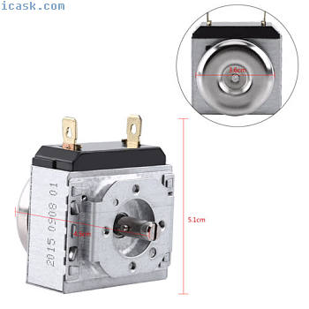 DKJ/1-60 60 Minutes Timer Controller For Electronic Microwave Oven Cooker Timer