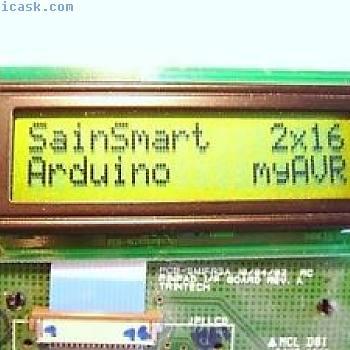 50 x LCD MODULE AFFICHAGE SainSmart Arduino myAVR C contrôle 2x16 Lumière #10#