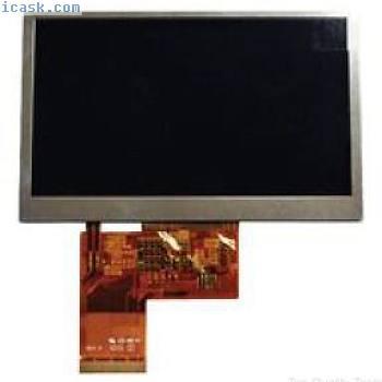 """LCD MODUL, 4.3"""", 480 X RGB X 272, K430WQA V4 F. 2064450"""