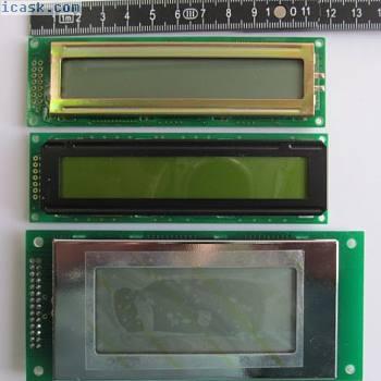 LCD-Set4 - 3 LCD Anzeigen unterschiedlicher Größen