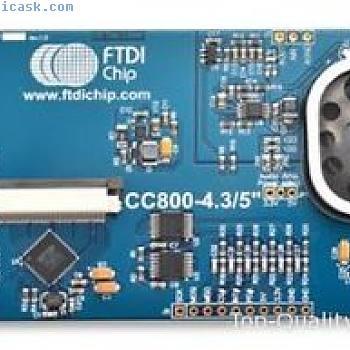 FT800 Eve Modul, FPC/FFC 40 LCD CONN Teil # FTDI vm800c43a-n
