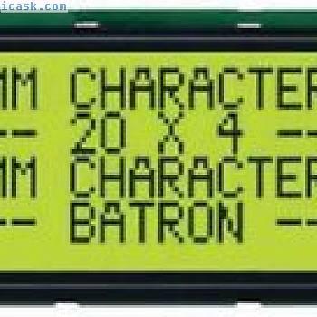 BATRON,BTHQ42005VSS-STF-LED04,LCD MODUL, ALPHANUMERISCHE, 20X4