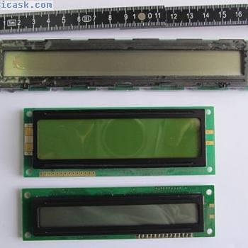 LCD-Set2 - 3 LCD Anzeigen unterschiedlicher Größen