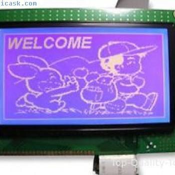 LCD MODULE, 128X240, BLUE Part # DENSITRON LMR4234EW-WCB