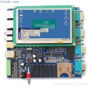 """AT91SAM9263, WITH 4.3IN LCD DISPLAY, SBC Part # EMBEST SBC6300X WITH 4.3""""LCD."""