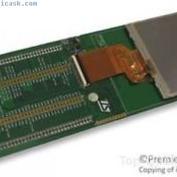 STM32, TFT LCD-DISPLAY, DEMO BRETT Teil # STMICROELECTRONICS STEVAL-CCM002V2