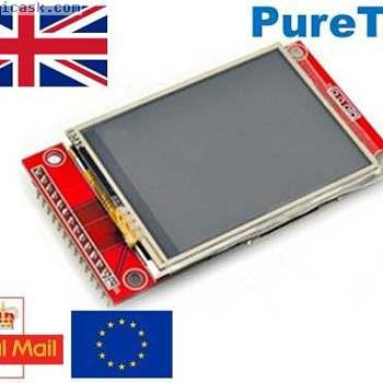 """2.4"""" 240x320 SPI TFT LCD Touch Panel ILI9341 5V 3.3V for Arduino RPi ESP8266 etc"""