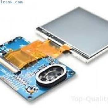 FT800 EVE MODULE, 3.5IN TFT LCD DISPLAY Part # FTDI VM800C35A-D