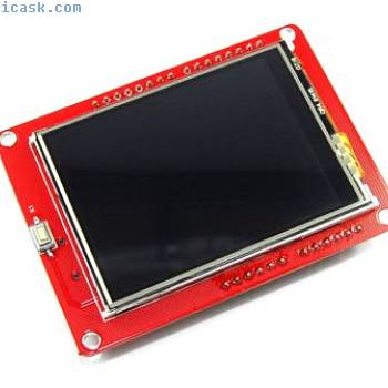 Keyes 240x320 Touch Colour LCD Shield EB-071 2.4 inch RGB UNO Flux Workshop