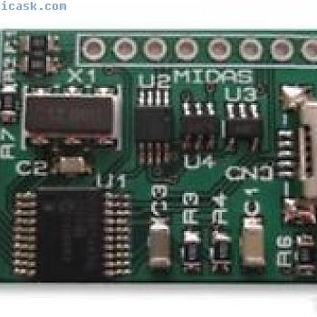 DEV BOARD, FOR CHARACTER LCD,/OLEDS, MCCMDB 16DIL 2219005