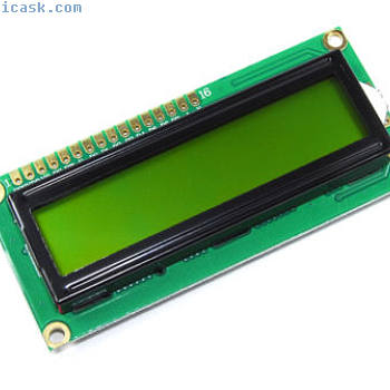 1602A Green LCD Module HD44780 16x2 Arduino Parallel Pi Serial I2C Flux Workshop